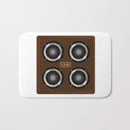 4 X 12 Guitar Amplifier Cabinet Bath Mat