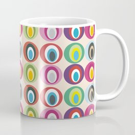 Retro geometric: Born to express love Coffee Mug