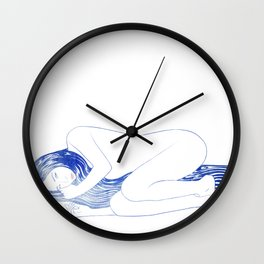 Water Nymph LIX Wall Clock