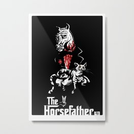 The Godfather of Horses Metal Print