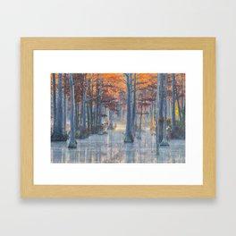 Adams Mill Pond 40 Framed Art Print