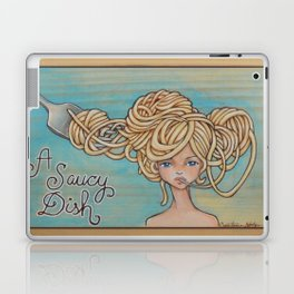 A Saucy Dish Laptop & iPad Skin
