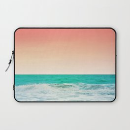 Aqua and Coral, 3 Laptop Sleeve