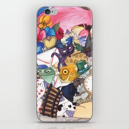 Alice's Objects iPhone Skin
