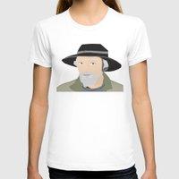 scandinavian T-shirts featuring Scandinavian fisherman by Design4u Studio