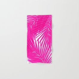 Palms Fuchsia Hand & Bath Towel