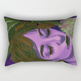 Canna-Queen Rectangular Pillow