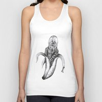 chewbacca Tank Tops featuring Chewbacca banana by ronnie mcneil