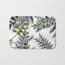 Vintage Ferns Bath Mat