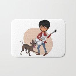 Miguel and Dante - Cute Chibi Bath Mat