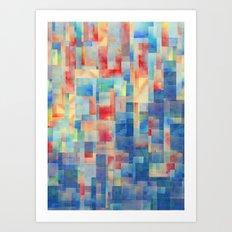 Long Division (Torrent Remix) Art Print