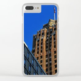 Chasing The Guardian Clear iPhone Case