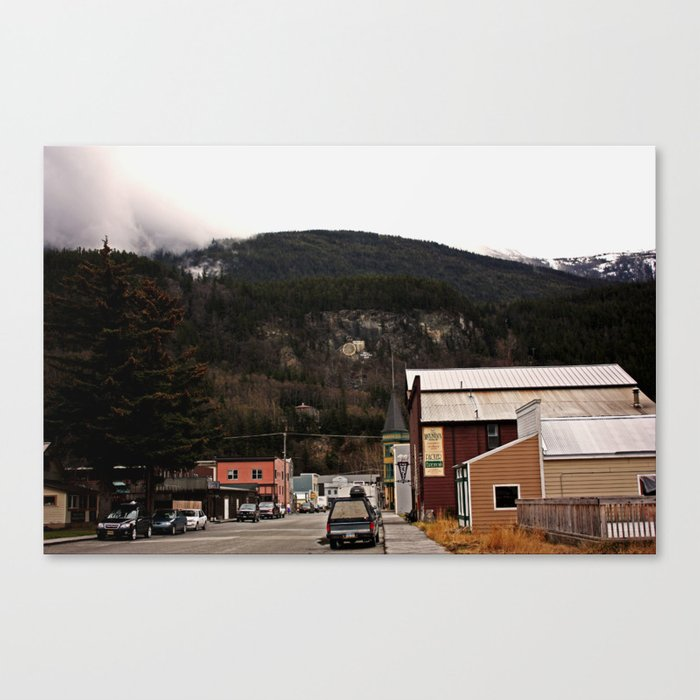 Cozy Skagway Canvas Print