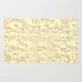 pastel liquid pattern,beige Rug
