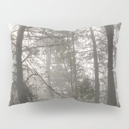 Calm morning... Into the foggy woods Pillow Sham