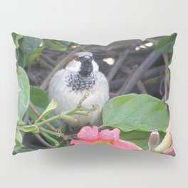 Sparrow in the Vine Pillow Sham