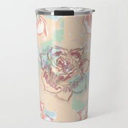 Pastel Rose Travel Mug