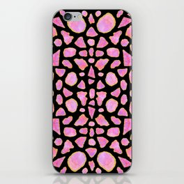 Pink Agate Shards iPhone Skin