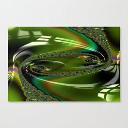 Enamored Selenium Fractal 3 Canvas Print