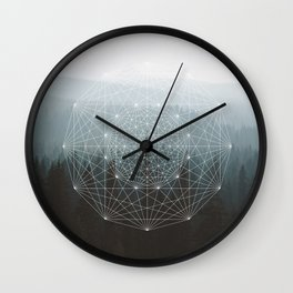 I am the mountains Wall Clock