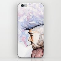 zayn iPhone & iPod Skins featuring Smokey Zayn by Aki-anyway