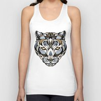 leopard Tank Tops featuring Leopard by Andreas Preis
