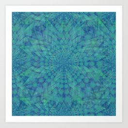 Lotus of Divinity Art Print