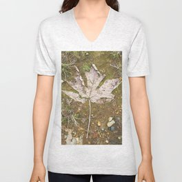 Big Leaf Maple Remains  Unisex V-Neck