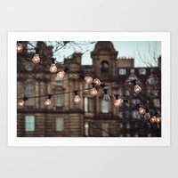 the lights Art Prints featuring Lights by Errne