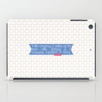dr seuss iPad Cases featuring Dr. Seuss Quote by Denise