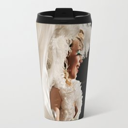 Lola In White Travel Mug
