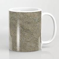 concrete Mugs featuring Concrete by Texture