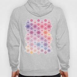Hexagonal multicolor Hoody