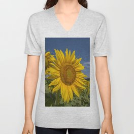 SUNFLOWERS 1 Unisex V-Neck