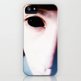 Black Eyes iPhone Case