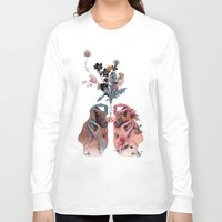 lungs Long Sleeve T-shirts featuring Lungs by La Scarlatte