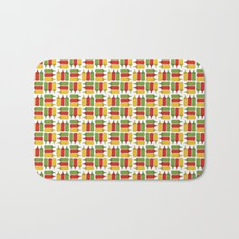 Condiments - BBQ Doodle Pattern Bath Mat