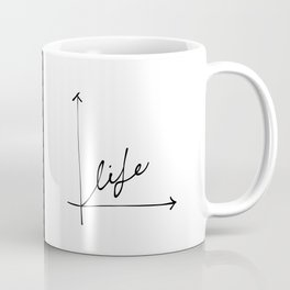 Life on X and Y Coffee Mug