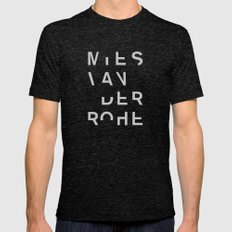 MIES Tri-Black MEDIUM Mens Fitted Tee