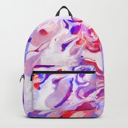 Watercolor painting abstract art Backpack