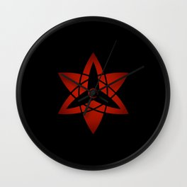 Sasuke Eternal Mangekyou Wall Clock