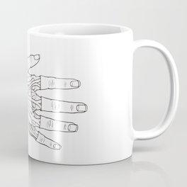 Anatomy of a Hand Coffee Mug