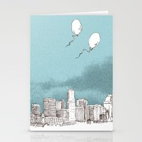 denver Stationery Cards featuring Denver by Bas van Genugten