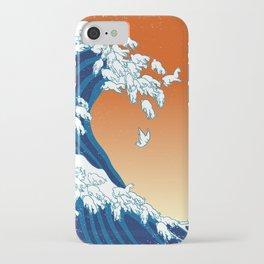 Llama Waves iPhone Case