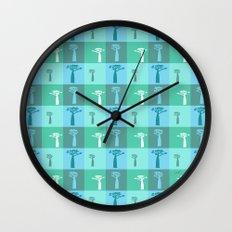 Baobab Azure Wall Clock