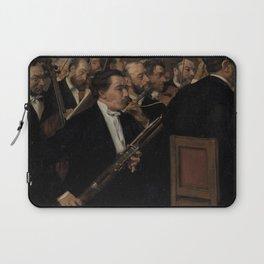 Edgar Degas - L'Orchestre de l'Opéra.jpg Laptop Sleeve
