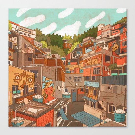 Favela Canvas Print