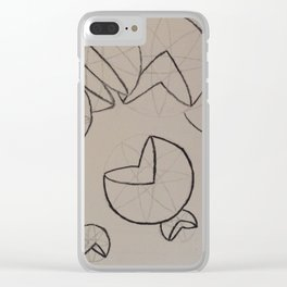 Pac-wedge Clear iPhone Case