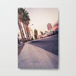 Las Vegas Blvd Metal Print