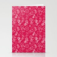 bicycles Stationery Cards featuring Bicycles by Kippy
